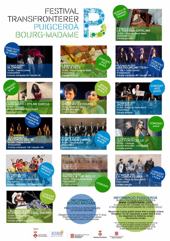 Festival Transfronterer Puigcerdà Bourg-Madame 2020