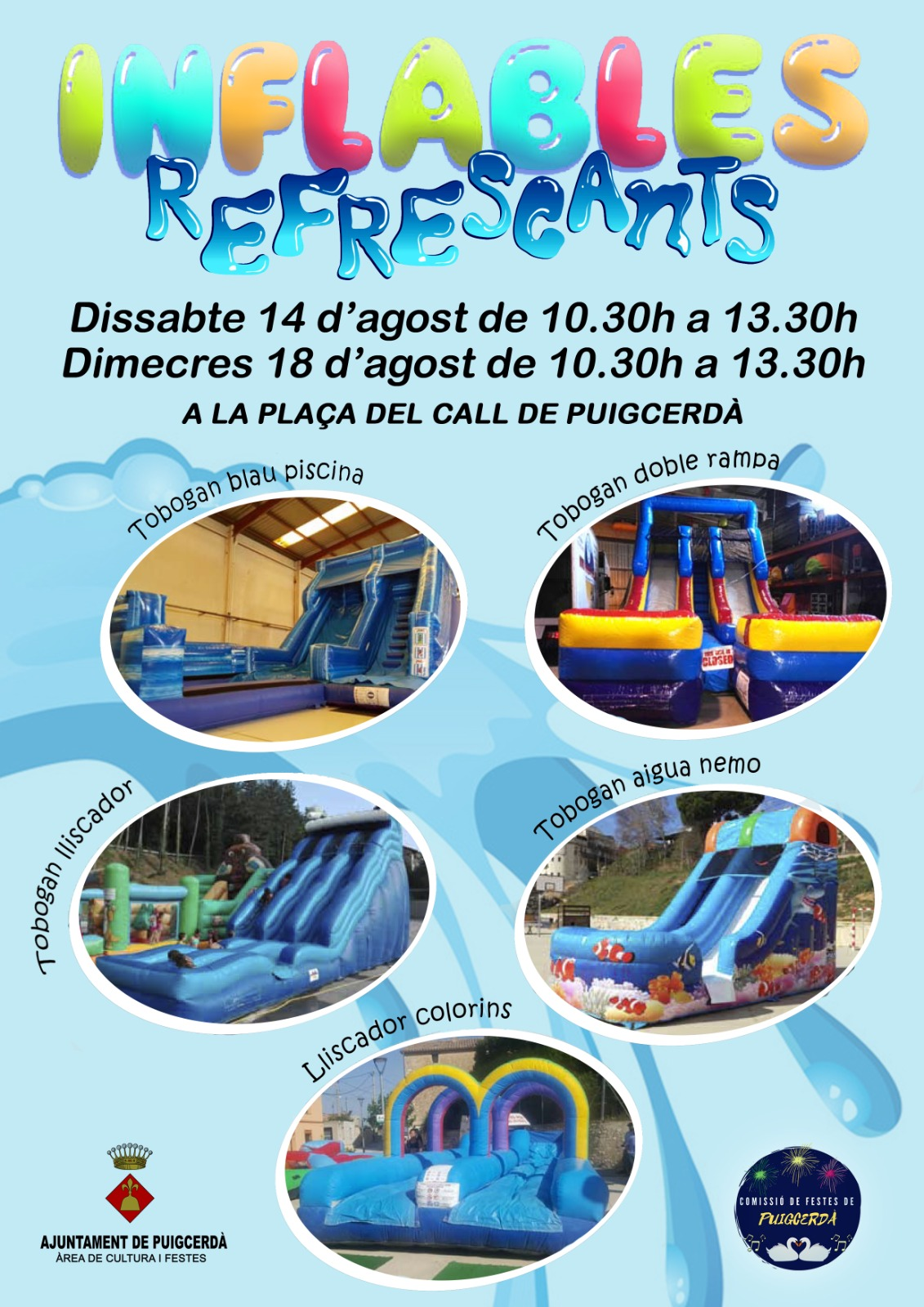 INFLABLES REFRESCANTS
