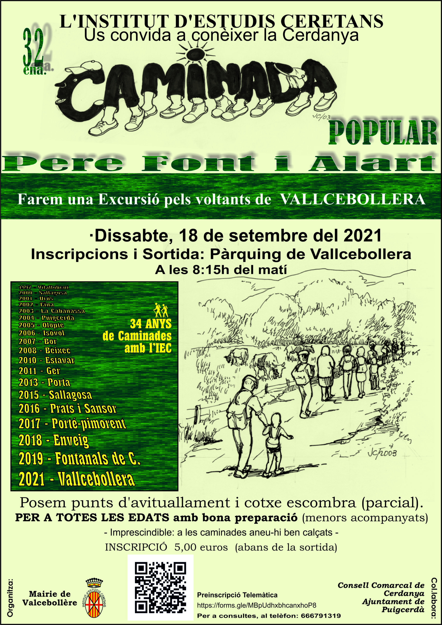 Camí Vallcebollera